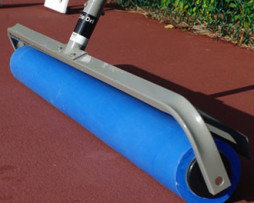 Miracle Dri Roller Unit Gold Standard in Tennis Court Water Removal